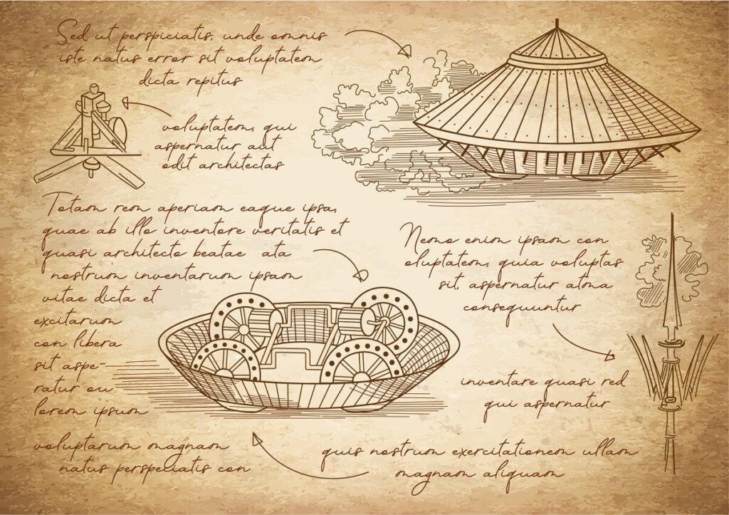 Qué invento Leonardo Da Vinci